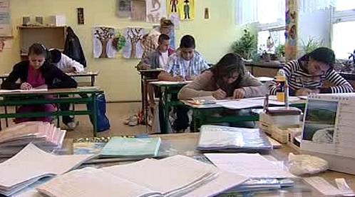 Romští žáci při výuce