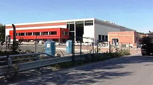 Skladišťní budova firmy D+D Park