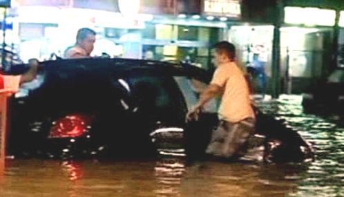 Záplavy v Riu