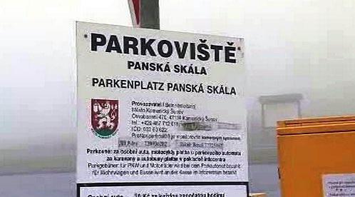 Parkoviště Panská skála