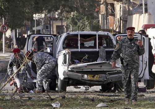 Bombové útoky v Bagdádu