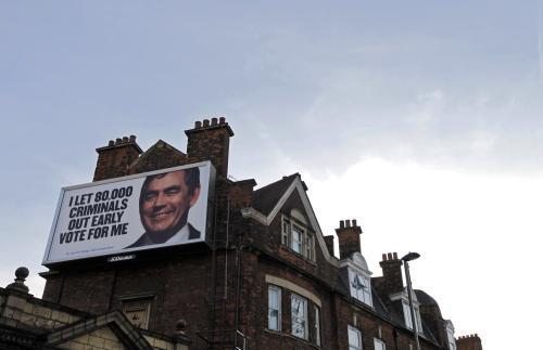 Předvolební kampaň v Británii