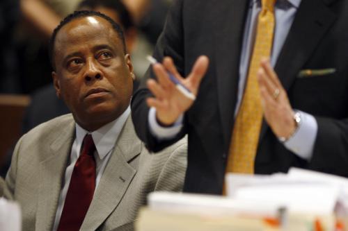 Conrad Murray před soudem