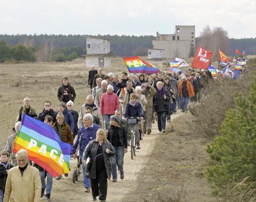 Tradiční velikonoční pochod v Německu