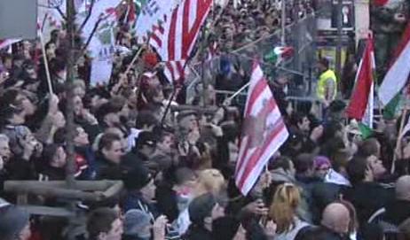 Předvolební setkání příznivců Jobbiku