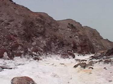 Solné hory v Íránu
