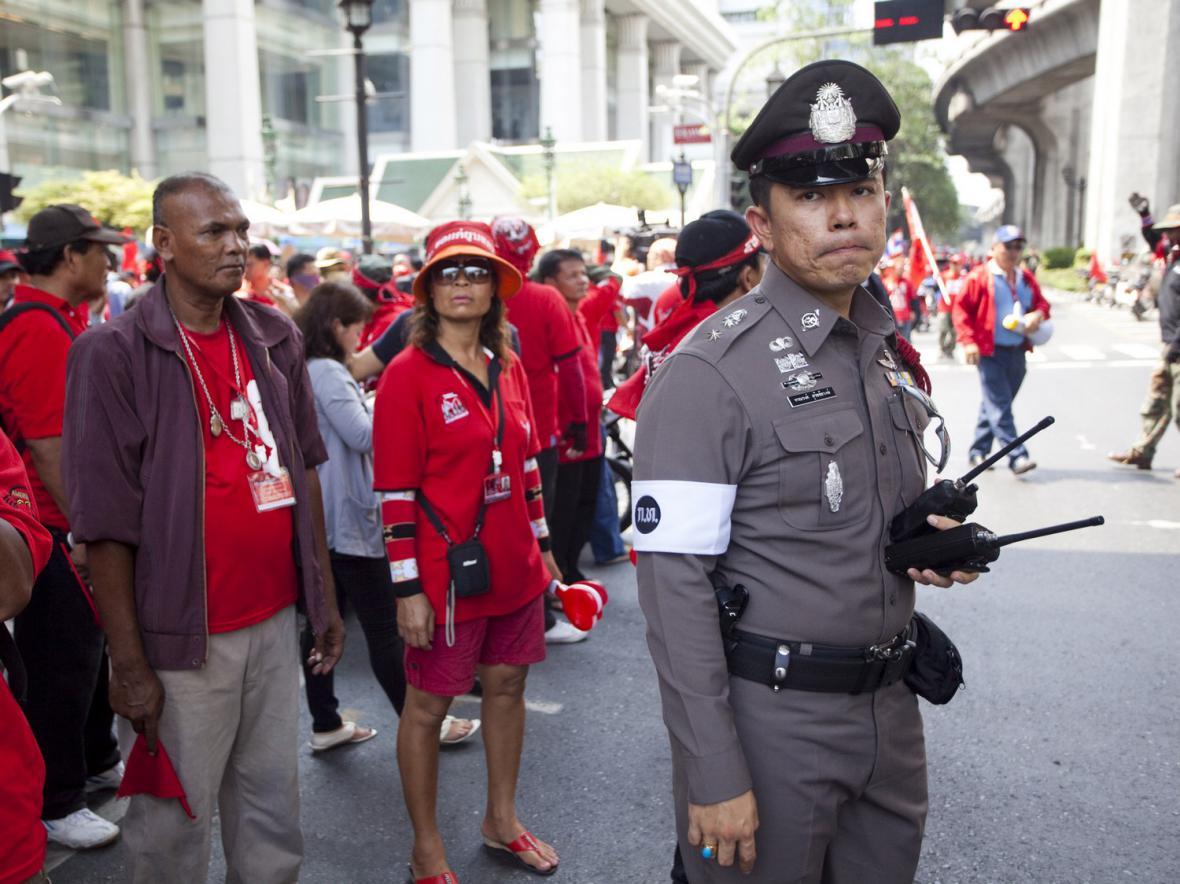 V Bangkoku je opět rudo
