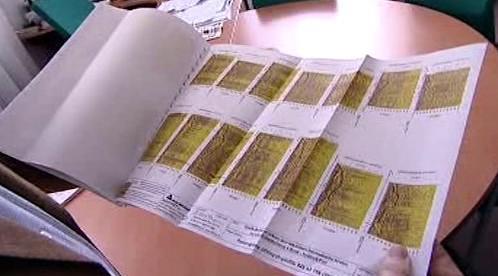 Dokumenty prokazující umístění hrobů ruských vojáků