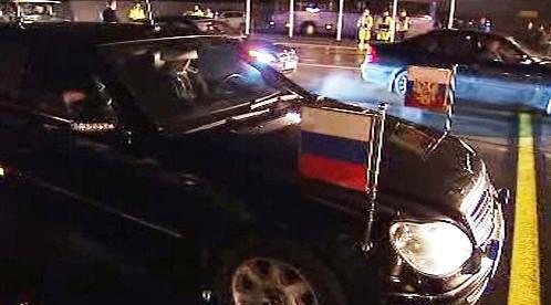 Limuzína ruského prezidenta