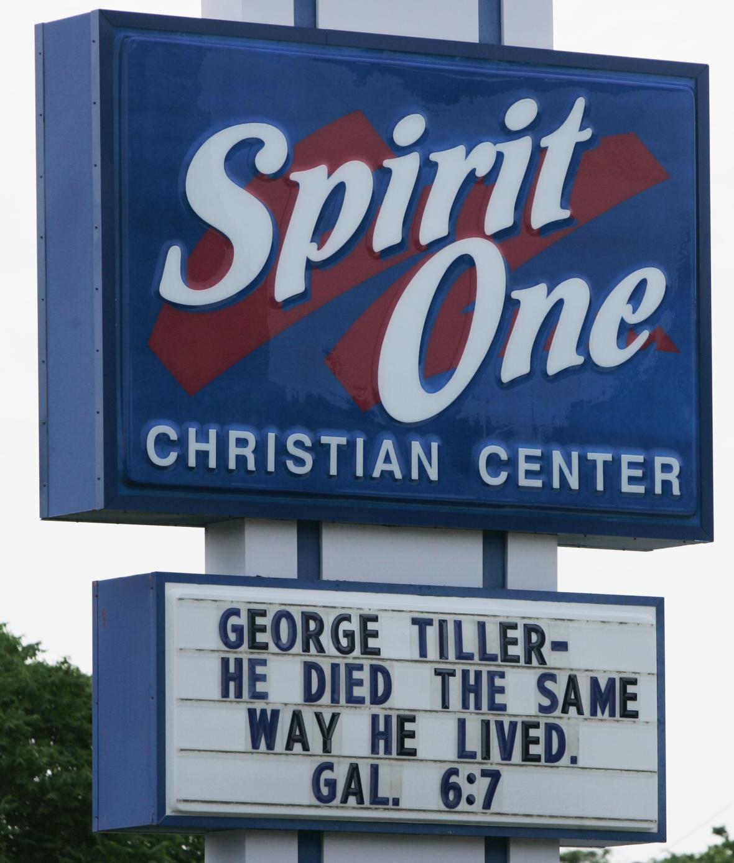 Vzpomínková mše za Dr.Tillera