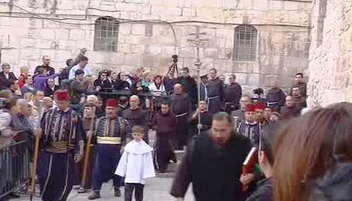 Oslavy Velikonoc v Jeruzalémě