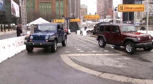 Newyorský autosalon