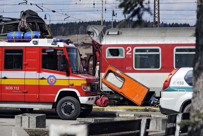 Železniční neštěstí ve Spišské Nové Vsi