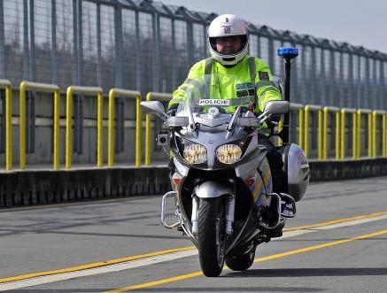 Policejní Yamaha