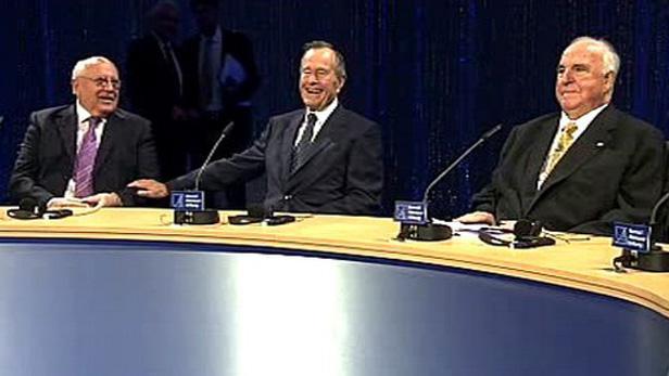 Kohl, Bush a Gorbačov