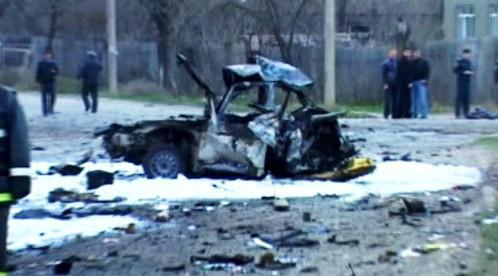 Výbuch v Dagestánu