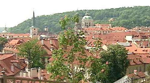 Výhled z Pražského hradu