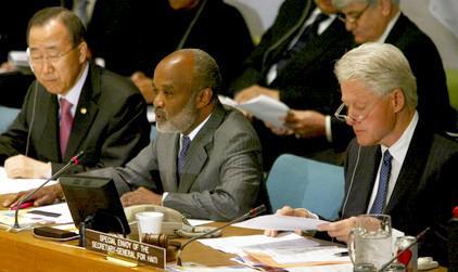 Dárcovská konference pro Haiti