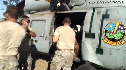 Američané pomáhají po katastrofě na Haiti