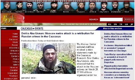 Doku Umarov se přihlásil k útokům v moskevském metru