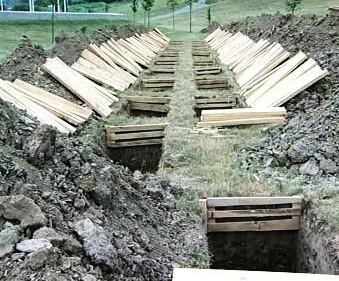 Hroby v Srebrenici