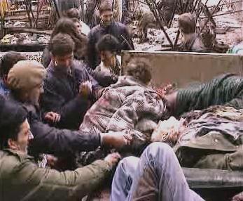 Oběti genocidy v Srebrenici