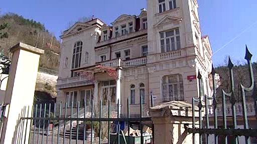 Bývalé sídlo dětského domova v Karlových Varech