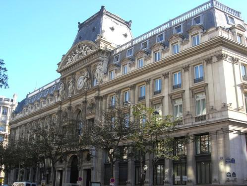 Pařížské sídlo banky Le Crédit Lyonnais