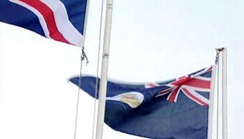 Falklandská vlajka