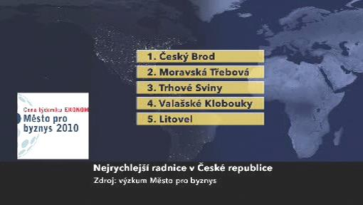 Nejrychlejší radnice v ČR