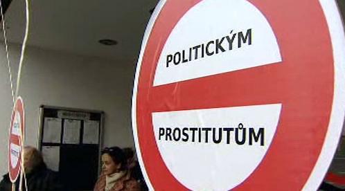 Protest proti Pernesovi