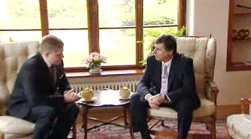 Jan Fischer a Robert Fico