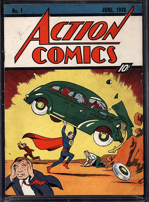 Superman - komiks z roku 1938