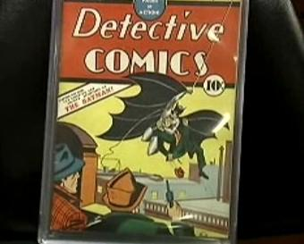 Batman - titulní strana komiksu