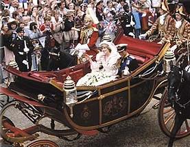 Svatba lady Diany a prince Charlese
