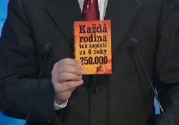 Účet za sliby ČSSD