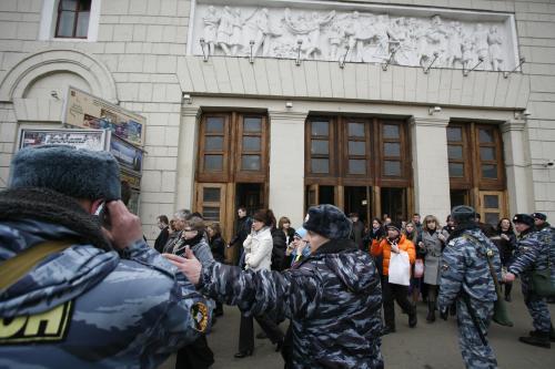 Útoky na moskevské metro, policie evakuuje stanici Park Kultury