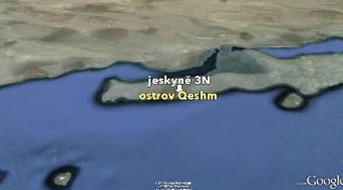Ostrov Kešm v Perském zálivu