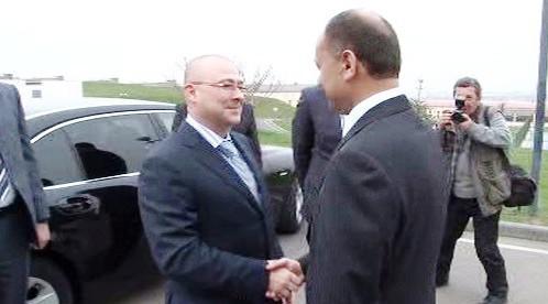 Ministr Martin Barták v Arménii