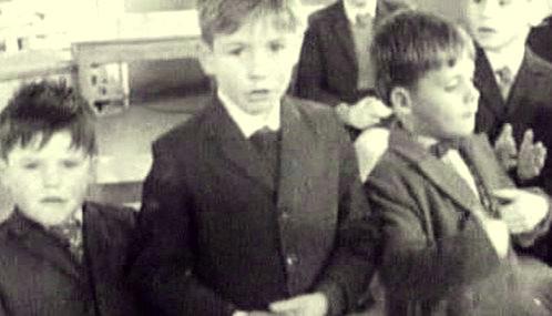 Žáci irské katolické školy
