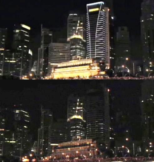 Hodina země - Singapur