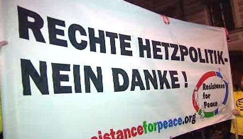 Protest proti Barbaře Rosenkranzové