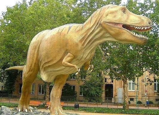 Replika tyranosaura