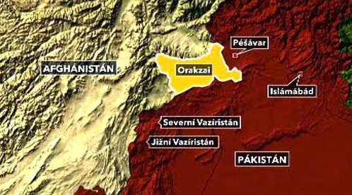 Pákistánská provincie Orakzai