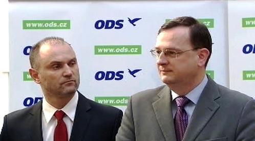 Ivan Langer a Petr Nečas