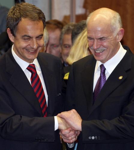 Papandreu a Zapatero