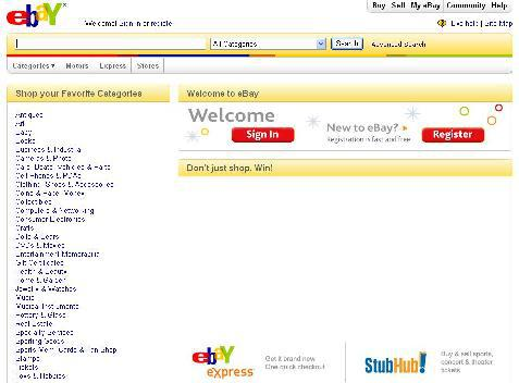 Internetová aukce eBay