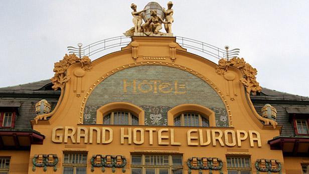 Šroubkův secesní hotel