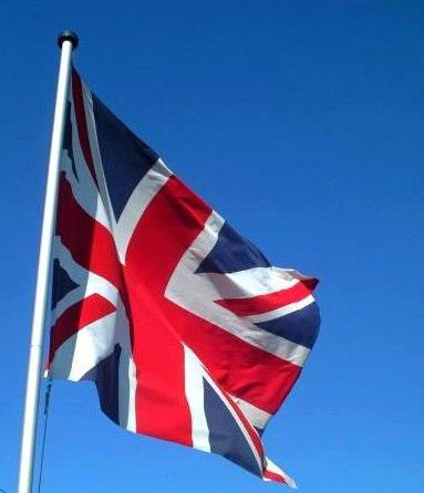 """Britská vlajka \""""Union Jack\"""""""