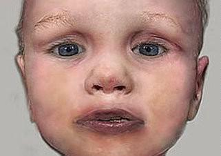 Portrét nalezeného chlapce